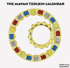 Tzolkin Wheel by Scott Brown